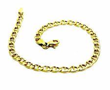 Bracelet Yellow Gold 18KT Women's Boy Jersey Crosspiece