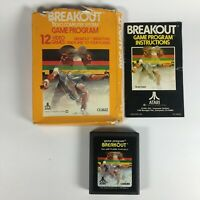 Vintage Atari 2600 Breakout Video Game Program Cartridge CX2622