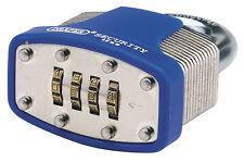 Draper Resetable 4 48mm CANDADO laminado de acero de combinación de números | 64158
