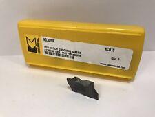 KENNAMETAL NG3078R New Carbide Inserts Grade KCU10 5pcs