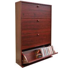 200 CD Media Storage Cabinet - MAHOGANY - MS0014
