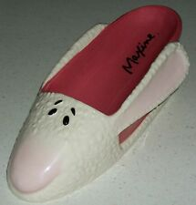 Maxine Hallmark cartoon character rabbit slippers wine caddy xmas novelty gift