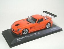 Minichamps 410113204 MERCEDES BENZ SLS AMG Gt3 Street Orange 2011 Modellino