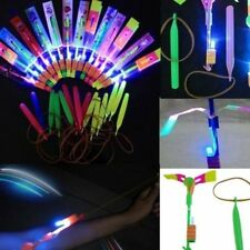12 Pc LED Rocket & Launcher Toy, Salt N Light. New Fun for All Aged