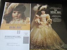 Franklin Heirloom BEBE BRU Doll Ad Advertisement ONLY