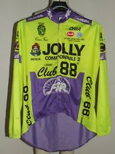 MAGLIA BICI CICLISMO SHIRT MAILLOT CYCLISM MANTELLINA TEAM JOLLY CLUB 88 tg. M
