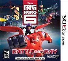 Big Hero 6: Battle in the Bay (Nintendo 3DS, 2014) COMPLETE FAST SHIPPING