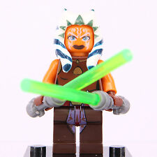 Star Wars Asoka Tano Super Hero Mini Figure Fits With Lego Building Toy