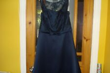 Blue - Dark Cayman  Dress for special occasions by Jasmine B2 - size 16