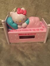 Hello Kitty Working Alarm Clock And Radio. On/ off light switch