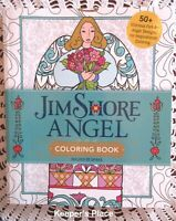 Jim Shore Angel Coloring Book 54 Folk Art Designs Plus Extras Brand New