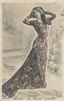 Lucette de Berny Glitter Covered Reutlinger PC -French Dancer, Actress -udb-1904