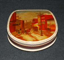 Russian Lacquer Box OLD TOWN Fedoskino SINGLE Best Quality