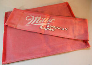 MILLER AMERICAN DIRECTOR CHAIR COVERS - FROM MILLER AMERICAN HYDROPLANE TEAM