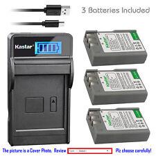 Kastar Battery LCD Charger for Nikon EN-EL9a MH-23 Nikon D60 Digital SLR Camera