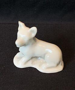 Rare Wade Prototype - White Corgi Dog Whimsie