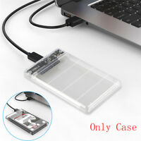 2.5in SATA USB 3.0 HDD Hard Drive External Enclosure SSD Disk Box Case With B0IT