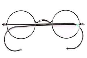 Agstum 39 47mm 49mm Round Vintage Antique Wire Glasses Eyeglass Frame Men Women