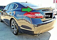 UN-PAINTED-GREY PRIMER  FINISH ABS REAR SPOILER FOR 2011-2013 INFINITI M56