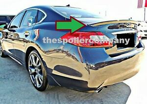 PRE-PAINTED BRAND NEW ABS REAR SPOILER FOR 2011-2013 INFINITI M56