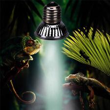 Uva+Uvb Reptile Heating Light Bulb Amphibians Turtle Basking Lamp Bulb 25/50/75W