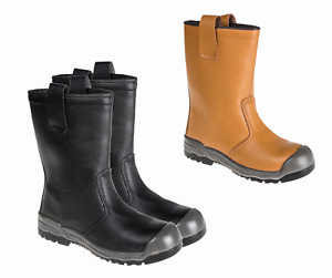Rigger Scuff Cap Safe Work Boot Shoe Steel Toe Cap Lined Size 4-13 Portwest FW13