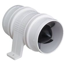 Marine Blower 3in 12V In-Line Ventilation Fan Turbo 3000 Bilge Boat Parts 120CFM