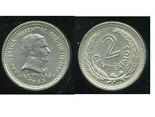 URUGUAY  2 centesimos  1953