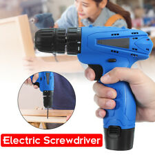 12V Li-Ion Battery Rechargeable Cordless Electric Screwdriver Drill Power Tool