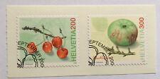2 timbres suisses YT CH1904 et CH1905, Zum:CH 1207/1208 obiltérés 1er jour. FDC