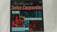 THE MUSIC OF JOHN CARPENTER - THE END - DIE KLAPPERSCHLAGE... LP Soundtrack OST