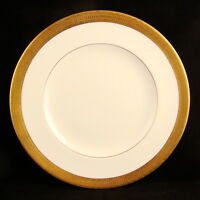 """Royal Worcester DURHAM Gold Encrusted Salad Plate(s) 8"""" EXCELLENT"""