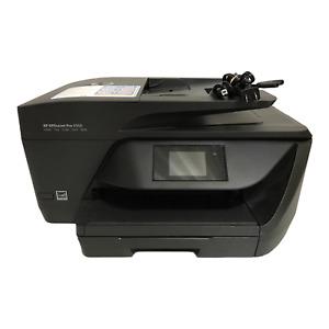 HP Officejet Pro 6968 All-In-One Inkjet Color Printer Working Full Ink USB BNDL