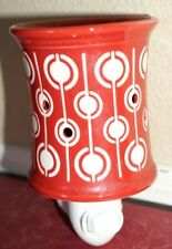 Scentsy wall plug in warmer - Pop Red & White