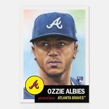 2018 Topps Living Set #32 ~ Ozie Albies ~ Rookie ~ In Stock!