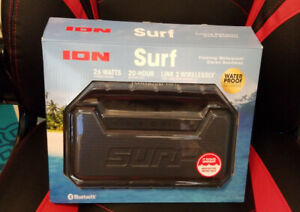 ION SURF FLOATING WATERPROOF STEREO BOOMBOX