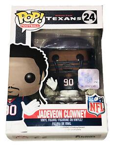 Jadeveon Clowney Houston Texans Pop! Football NFL Vinyl Figure by FUNKO NIB #24