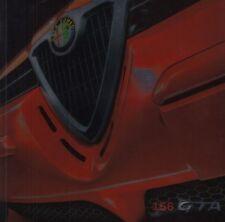 ALFA ROMEO 156 GTA SPORT 3.2 v6 24v Limousine prospetto brochure 2002 14