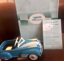 Nib Hallmark Kiddie Car Classics 1941 Steelcraft by Murray Oldsmobile Qhg9036