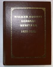 Walker County Georgia Heritage Chickamauga LaFayette GA Family History Book