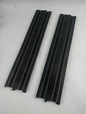 "Life Like 15"" Straight Track HO Scale Slot Car Track Parts Lot of 2 Pieces"
