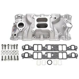 Edelbrock 2701 Performer EPS Intake Manifold Install Kit for SBC