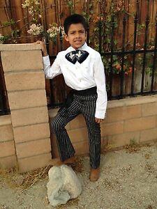 Mexican Kids Western Pants.Pantalon Caporal de Niño echo en Mexico