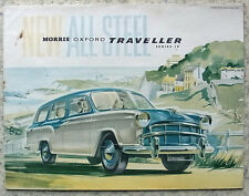 MORRIS OXFORD TRAVELLER Series IV Car Sales Brochure May 1959 #H&E 5757