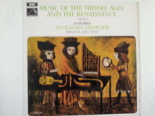 LP MUSIC OF THE MIDDLE AGES + RENAISSANCE Vol 2