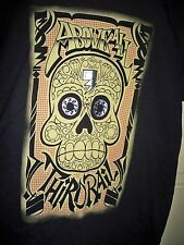 Above All Third Rail Skull Graphic Urban Street T Shirt Size Large