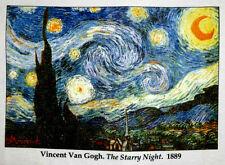 Vintage New.T-shirt.Van gogh.Starry Night.2XL 3XL 4XL 5X.Fine Art.MET.MoMA