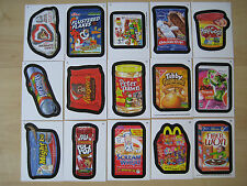 2013 10th Series Wacky Packages 27/55 Base Set + extras (Lot of 34 cards)