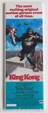 King Kong (1976) FRIDGE MAGNET (1.5 x 4.5 inches) insert movie poster