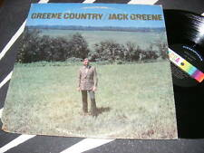 GREENE COUNTRY Jack Greene LP DECCA/ 1971 Hank Cochran Songs Fun Cover
